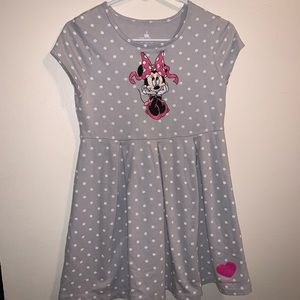 Walt Disney World Embroidered Minnie Mouse Dress.